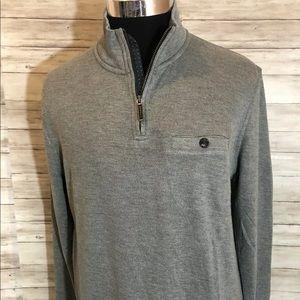 Men NEW! Ted Baker London 1/4 zip Sweater N19